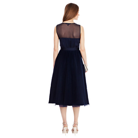 Buy Coast Lily-Anna Dress, Navy Online at johnlewis.com