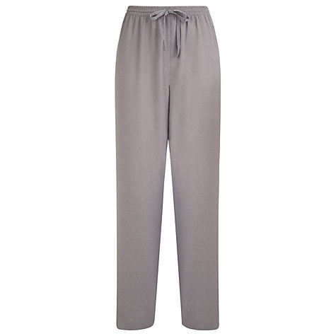 Buy Windsmoor Textured Trousers, Brown Online at johnlewis.com