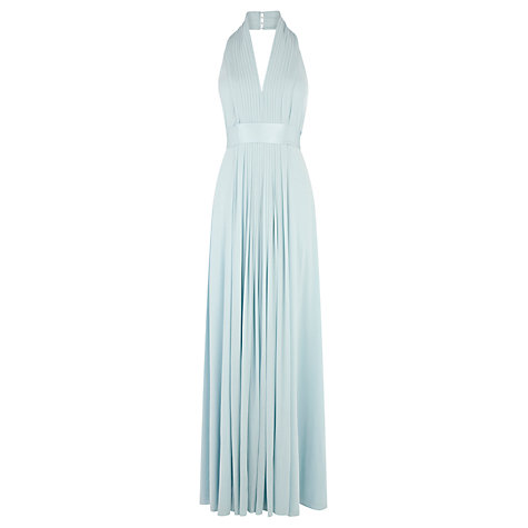 Buy Coast Goddess Maxi Dress, Pale Blue Online at johnlewis.com
