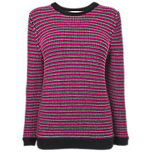 Buy Boutique by Jaeger Tweed Jumper, Dark Multi Online at johnlewis.com