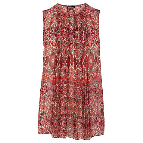 Buy Warehouse Ornate Swing Top, Multi Online at johnlewis.com