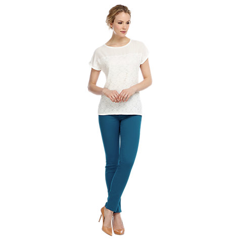 Buy Kaliko Slim Fit Jeggings, Dark Teal Online at johnlewis.com