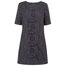 Buy Phase Eight Morgenne Broderie Tunic, Mole Online at johnlewis.com
