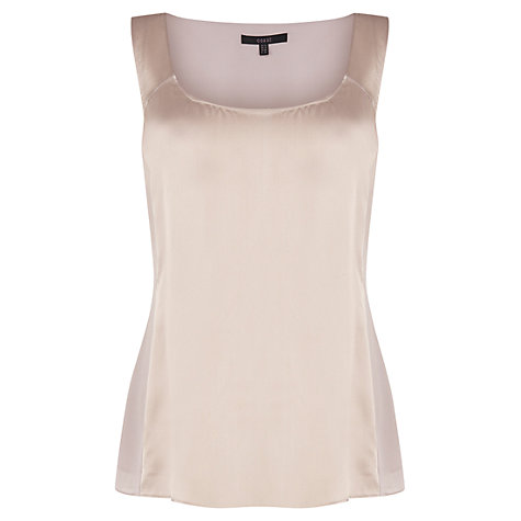 Buy Coast Myan Top, Oyster Online at johnlewis.com