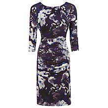 Buy Kaliko Lana Print Ruched Dress, Multi Online at johnlewis.com