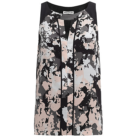 Buy Whistles Thea Terrazo Top, Multi Online at johnlewis.com