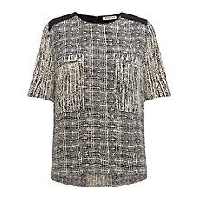 Buy Whistles Carly Inkpot Print Top, Multi Online at johnlewis.com