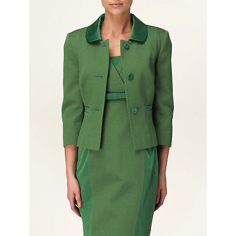Buy Phase Eight Stella Double Breasted Jacket, Juniper Online at johnlewis.com