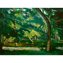 Buy The Courtauld Gallery, Paul Cézanne - L'Etang des Soeurs, Osny near Pontoise Circa 1875 Print Online at johnlewis.com