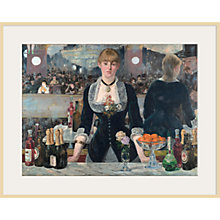 Buy The Courtauld Gallery, Edouard Manet - A Bar at the Folies-Bergère 1881-2 Print Online at johnlewis.com