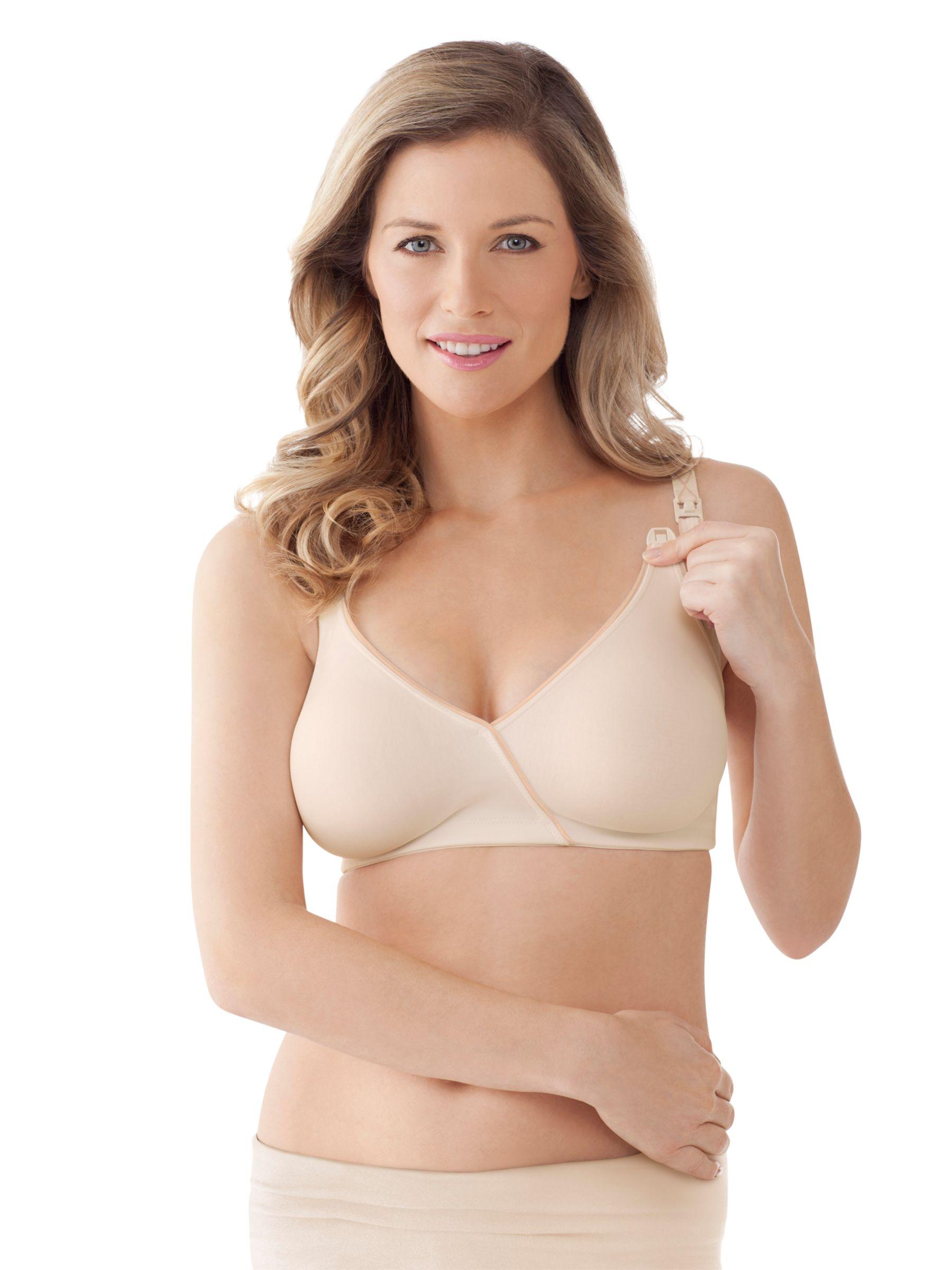 Bravado Essential Embrace Nursing Bra, Nude/Ivory