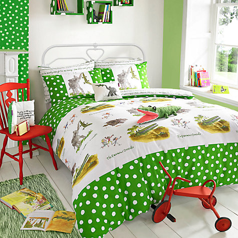 Buy Roald Dahl The Enormous Crocodile Duvet Cover and Pillowcase Set Online at johnlewis.com