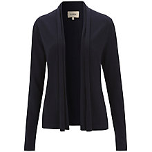 Buy Havren Cashmere Blend Drape Cardigan, Navy Online at johnlewis.com