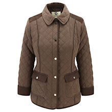 Buy Viyella Turnback Cuff Jacket, Mink Online at johnlewis.com