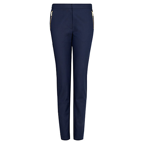 Buy Mango Slim Cropped Trousers Online at johnlewis.com