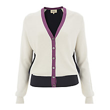 Buy Havren Cashmere Blend Beaded Cardigan, Multi Online at johnlewis.com