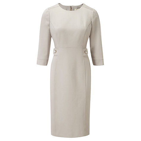 Buy Viyella Ponte Dress, Stone Online at johnlewis.com