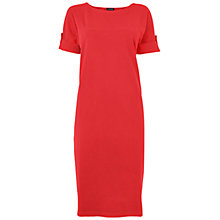 Buy Jaeger Roll Sleeve Dress Online at johnlewis.com