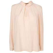Buy Jaeger Raglan Blouse, Light Peach Online at johnlewis.com