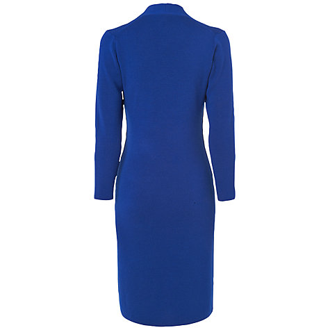 Buy Jaeger V-Neck Rib Dress Online at johnlewis.com