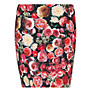 Buy Mango Floral Print Mini Skirt, Red Online at johnlewis.com