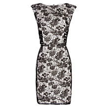 Buy Mango Lace Dress, Black Online at johnlewis.com