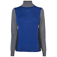Buy Jaeger Colour Block Sweater, Multi Online at johnlewis.com