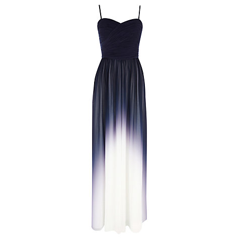 Buy Coast Sheena Maxi Dress, Navy Online at johnlewis.com