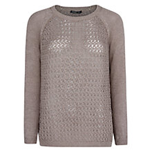 Buy Mango Metallic Cotton Knit Jumper Online at johnlewis.com
