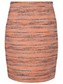 Jaeger Tweed Skirt, Light Multi