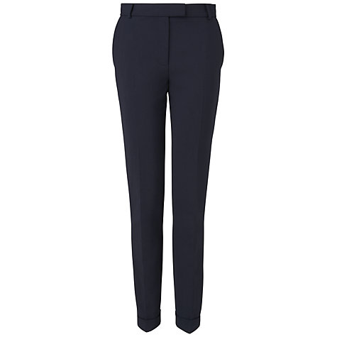 Buy Jaeger London Grosgrain Trim Trousers Online at johnlewis.com