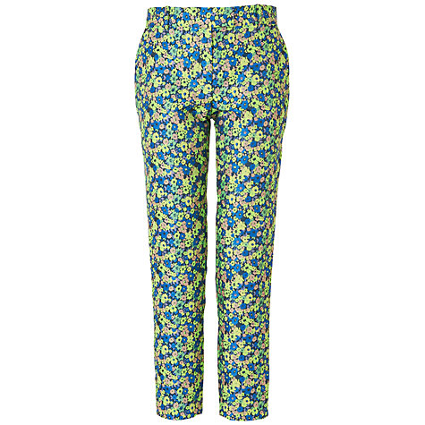 Buy Jaeger Jacquard 60s Trousers, Light Multi Online at johnlewis.com