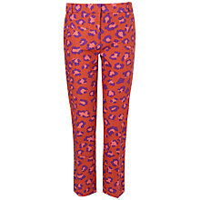 Buy Boutique by Jaeger Leopard Print Trousers, Dark Multi Online at johnlewis.com