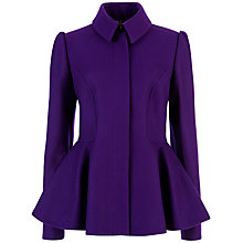 Buy Ted Baker Sollel Peplum Detail Coat Online at johnlewis.com