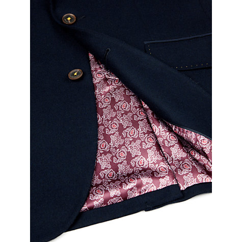 Buy Ted Baker Tantkop Wool Grosgrain Blazer Online at johnlewis.com