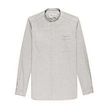 Buy Reiss Belevedere Grandad Collar Long Sleeve Shirt Online at johnlewis.com