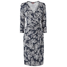 Buy Phase Eight Bella Butterfly Dress, Mole/Ivory Online at johnlewis.com