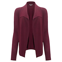 Buy Jigsaw Ribbed Drape Cardigan Online at johnlewis.com