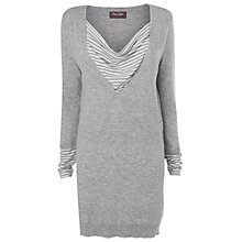 Buy Phase Eight Tabatha Double Layer Tunic, Grey Online at johnlewis.com