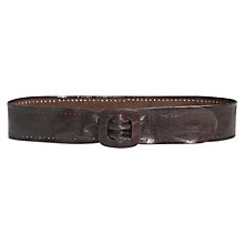 Buy Jigsaw Watson Waist Belt, Brown Online at johnlewis.com