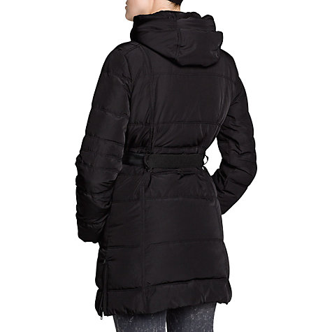 Buy Mango Down Feather Long Coat, Black Online at johnlewis.com