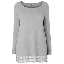 Buy Phase Eight Larna Lace Hem Jumper Online at johnlewis.com