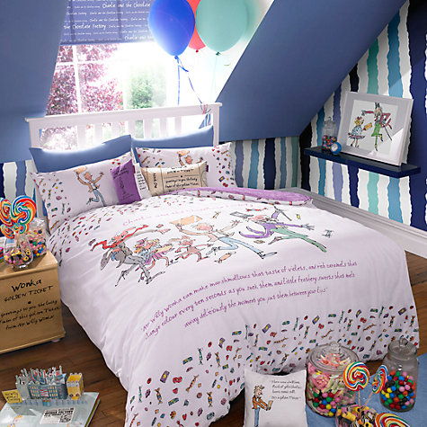Buy Roald Dahl Charlie and the Chocolate Factory Duvet Cover and Pillowcase Set Online at johnlewis.com