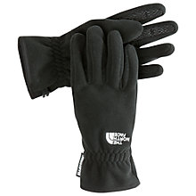 Buy The North Face Pamir Windstopper Gloves, Black Online at johnlewis.com