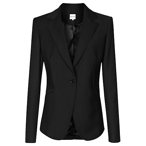 Buy Reiss Slim Fit Jacket, Black Online at johnlewis.com