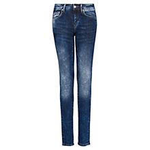 Buy Mango Dark Wash Slim Jeans, Blue Online at johnlewis.com