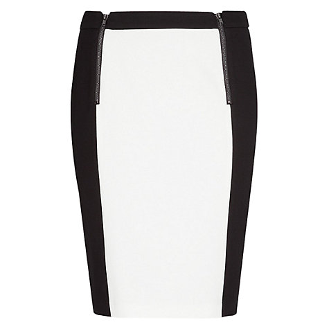 Buy Mango Colour Block Zip Skirt Online at johnlewis.com