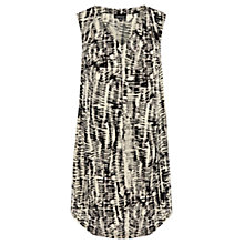 Buy Warehouse Sketchy Tribal Print Dress, Multi Online at johnlewis.com