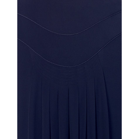 Buy Chesca Piping Trim Tuck Skirt, Navy Online at johnlewis.com