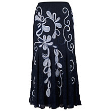 Buy Chesca Cornelli Lace Skirt, Navy Online at johnlewis.com